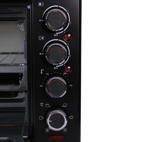 Готварска печка (мини) MUHLER MN-3809 черна 2