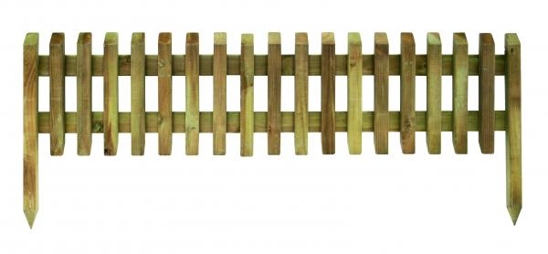 Дървена оградка Pikaso 28/45х112 см
