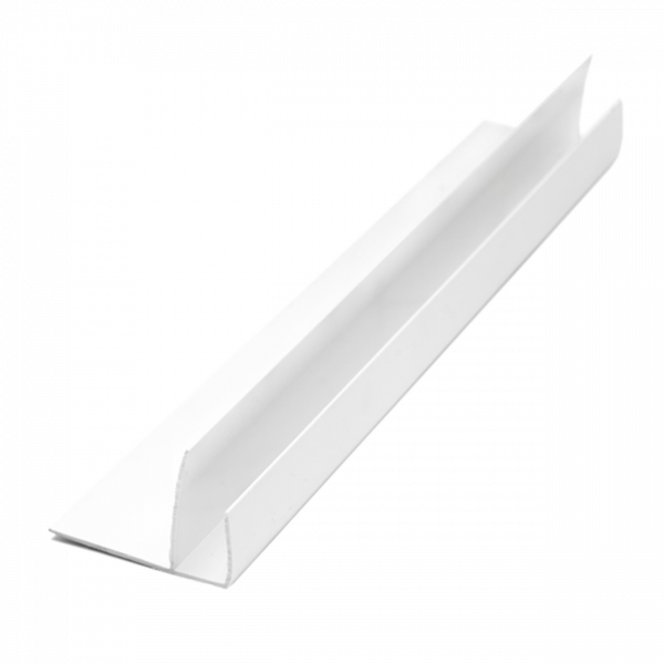 F – Профил Мултифункционален бял, 3 м