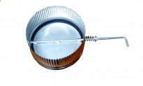 Клапа Ф100 инокс