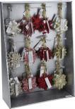 Коледна висулка Снежинка