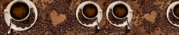 Принт гръб с кафе и напитки, код 07