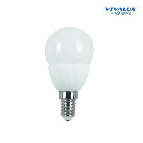 Керамична LED лампа 3,5W E14 студена