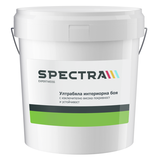 Интериорна боя Spectra Expertweiss 15 л бяла