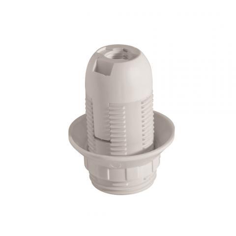 Фасунга термоплатична E14 бяла VIVALUX