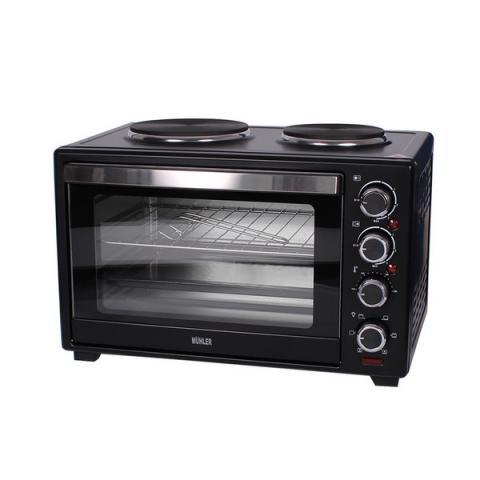 Готварска печка (мини) MUHLER MN-3809 черна