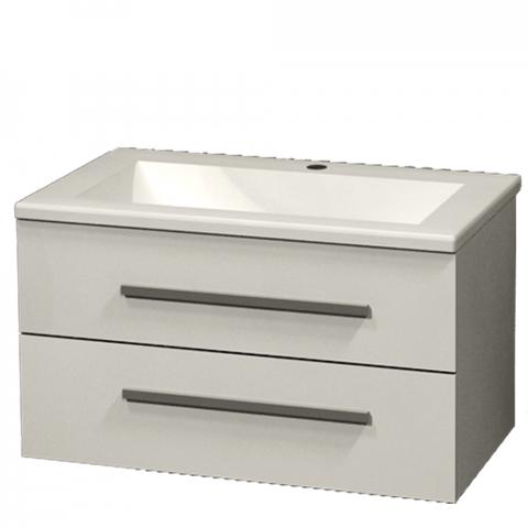 Шкаф Сара 65 см с мивка, бял