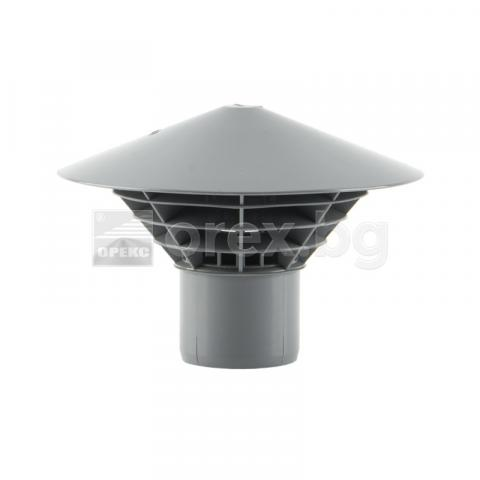 PP Вентилационна шапка Ф50