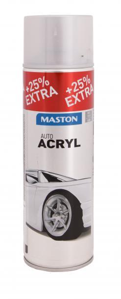 Автоспрей Maston 0.5л, сребро гланц