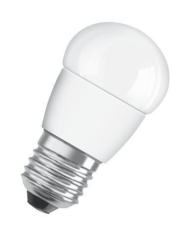 LED лампа малък балон 4W E27 мат