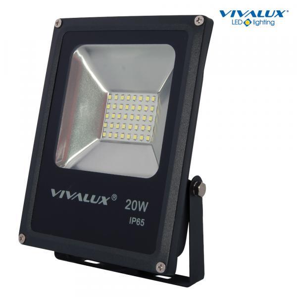 LED прожектор HELIOS 20W 1600lm 6400K черно IP65