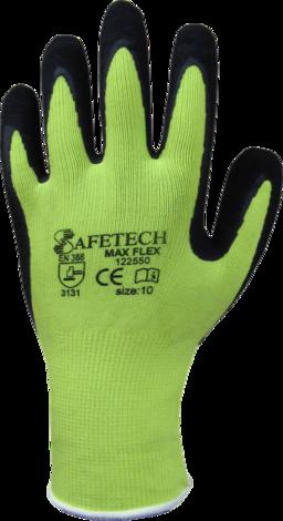 Ръкавици от трико топени в латекс р-р 9 PALAVAN
