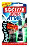 Секундно лепило Loctite Super Attack PowerGel 3 гр