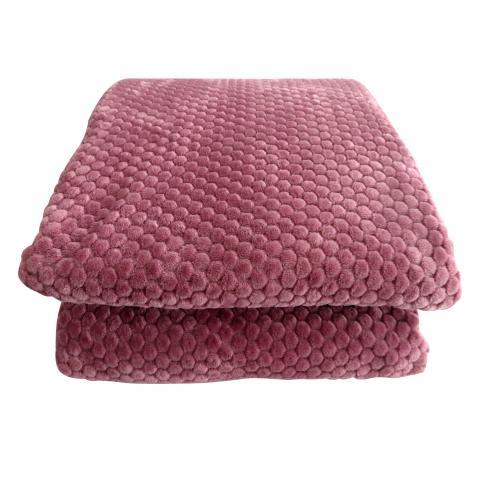 Жакардово одеяло корал 200x220 см 2