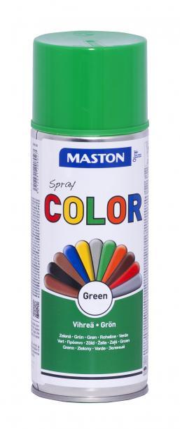 Спрей боя Maston 0.4л, зелен гланц