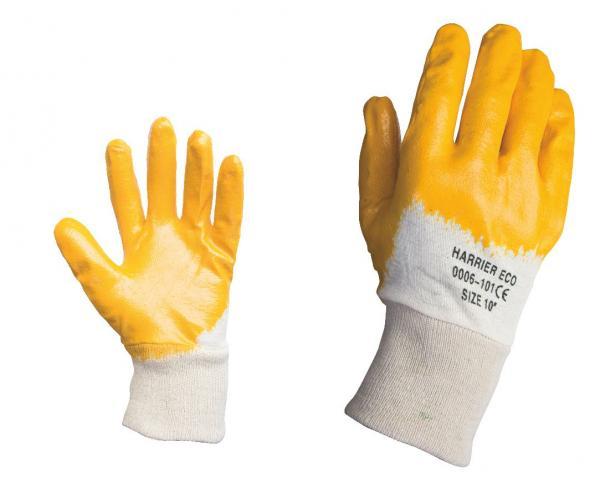 Ръкавици топени в нитрил р-р 9 HARRIER ECO