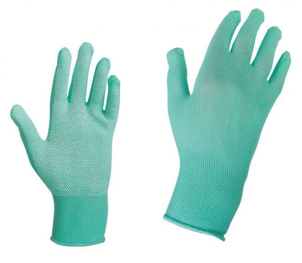 Ръкавици с полимерни капки  р-р 9 FUNNY резида