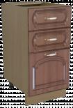"Долен шкаф с три чекмеджета ""Орех"""