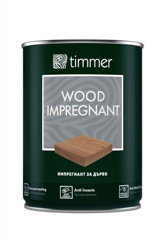 Импрегнант за дърво Timmer 0.75л