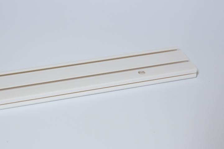 Корниз PVC двуканална релса - 1.50 м.