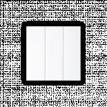 PVC облицовки 20х300х1 см  бяла
