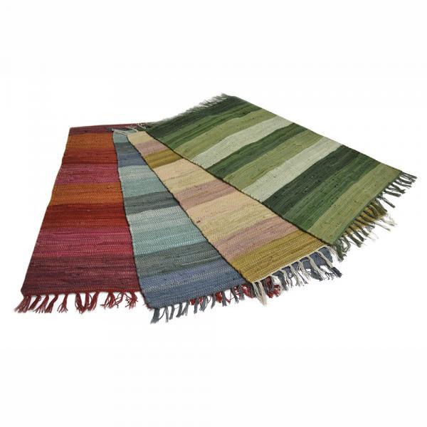 Индийско килимче Larya Salem 50х80 памук ръчнотъкан