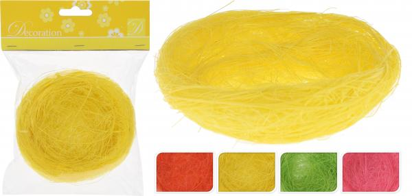 Декоративно гнездо 2бр.х10см, 4 цвята