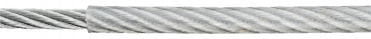 Стоманено въже PVC 5/6мм