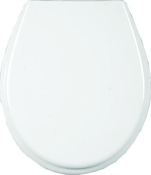 Тоалетна седалка, забавено падане бяла