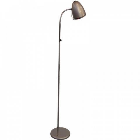 Лампион STICK метал сив Е27