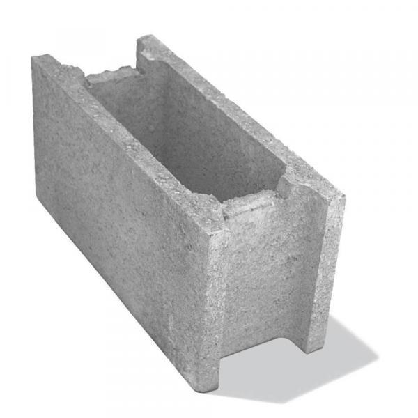 Блокче за зидане 50х20х25 см,сиво