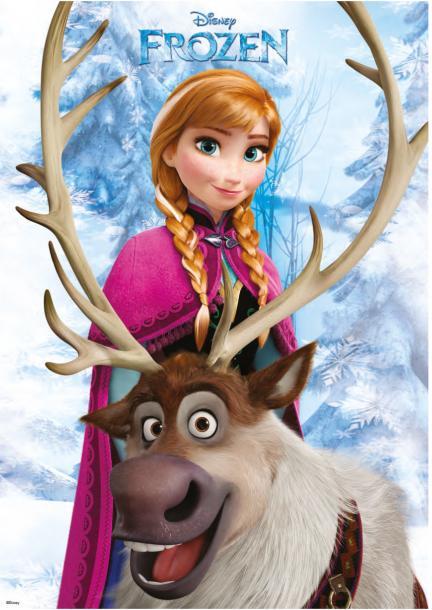 Постер за стена Frozen 2 59х84 см
