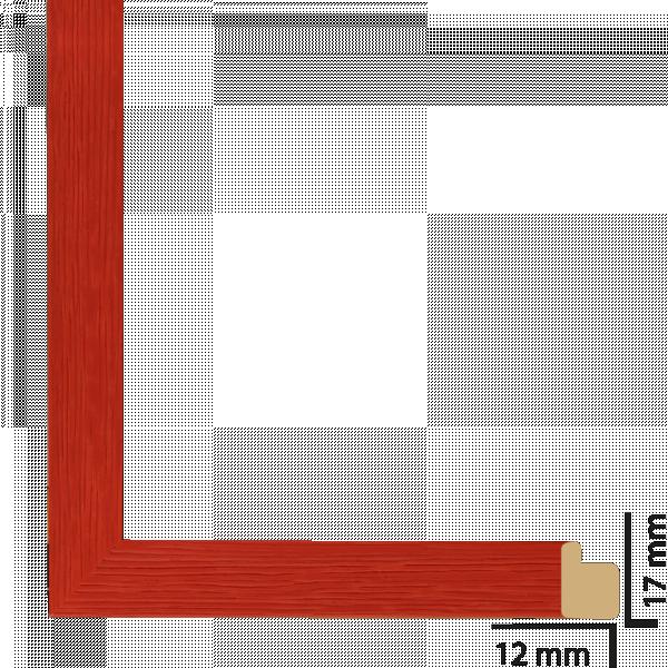 Рамка дърво 21х30 см червено