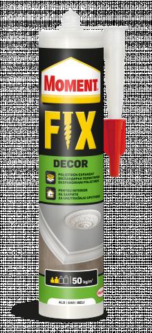 Монтажно лепило Moment FIX Decor 400г, бяло