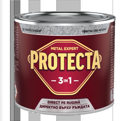Протекта 3в1  0.5л, сив металик