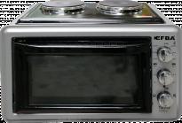 Готварска печка (мини) EFBA 1005, 36л сива