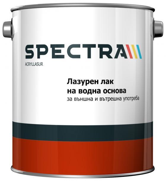 Лазурен лак Spectra Acryllasur 2.5 л кестен