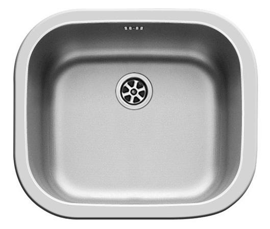 Кухненска мивка KIBA SQUARE 46.5х40.5