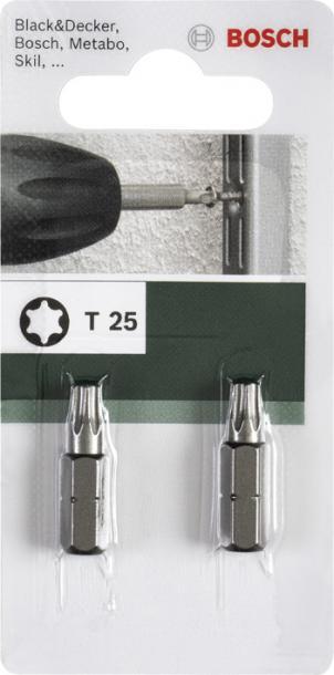 Бит Bosch T10 25мм