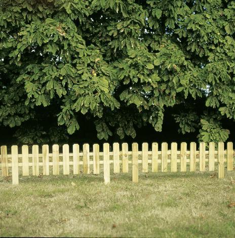 Дървена ограда 60/90х180 см