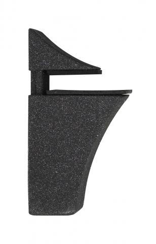 Клипс ECO 4-20мм пясъчно черен