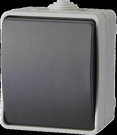 Външен девиаторен ключ 230V, 10A, IP54