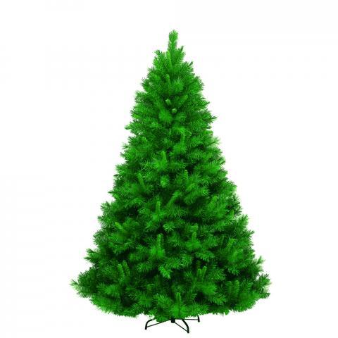 Изкуствена елха PVC зелена, гъста 120см
