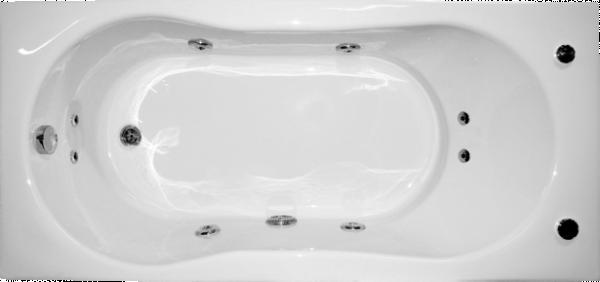 Хидромасжна вана Еко 170х70см