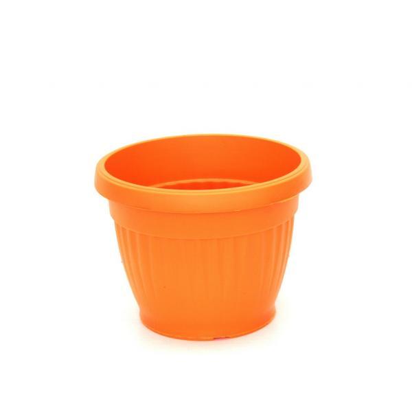 Саксия Ребра Ф:12 см оранжева