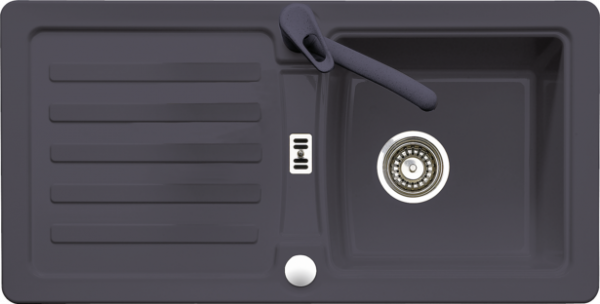 Кухненска мивка ЕуростоунЧерна