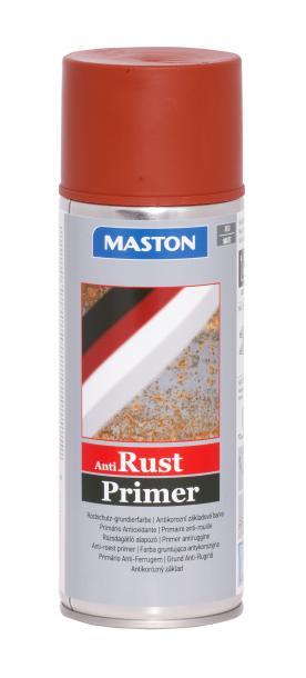 Спрей гунд срещу ръжда Maston 0.4л, червен