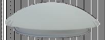 LED плафон стъкло 30см 12W 4500K