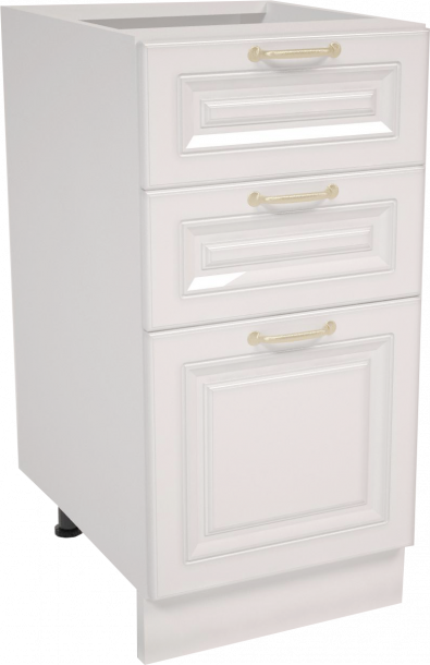 Долен шкаф с  две чекмеджета 40х87 Мишел
