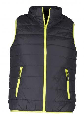 Дамски елек Flash Vest син/зелен XL